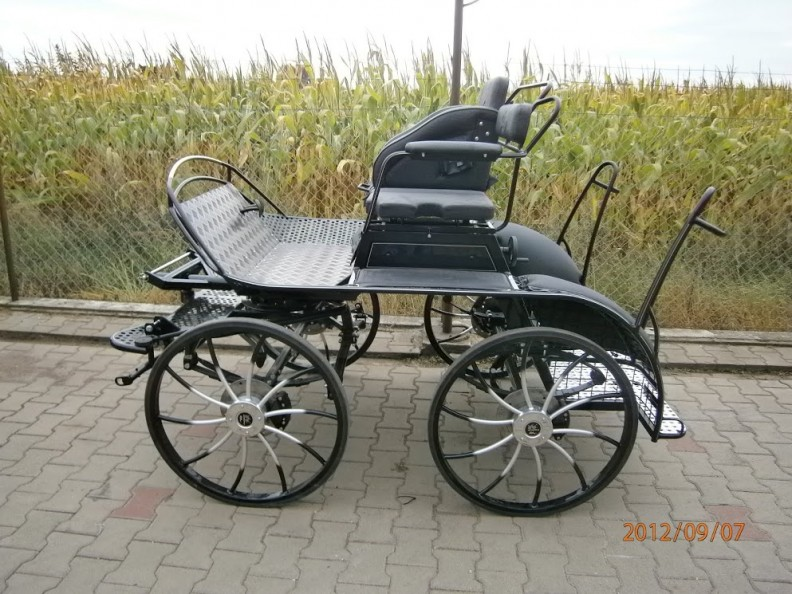 SH1  SPORTIVE HORSE SINGLE or SH2 PAIR 3 Phase Marathon Carriage 15-16hh. From £3114
