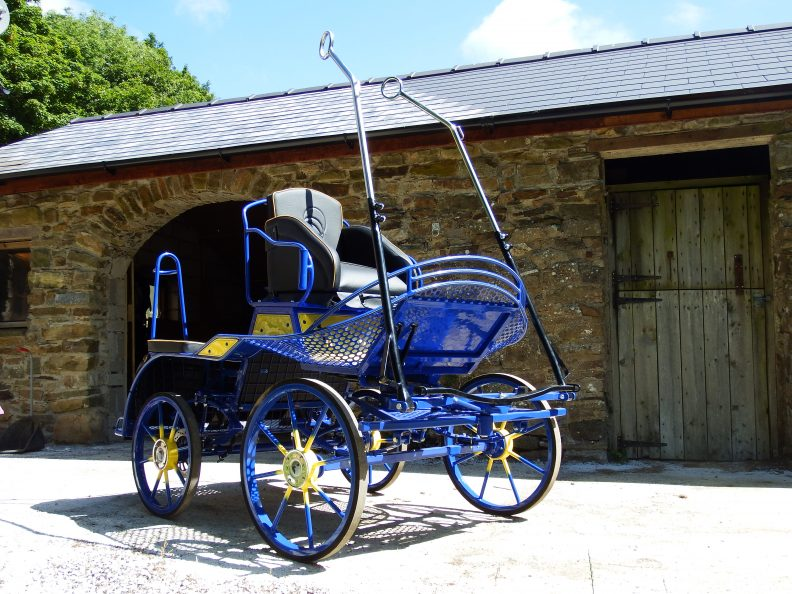 SAVE £258 New Mini Duo Single Pony 3 Phase Marathon Competition Carriage New. £3460 (Normally 3666) + VAT