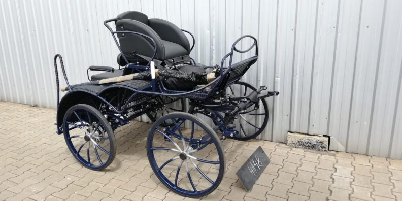 SAVE £380 New Fox 4 3 Phase Competition Carriage.  £3603 (Normally 3919)+ VAT  Suit 13.3 to 14.2hh Free Delivery mainland UK